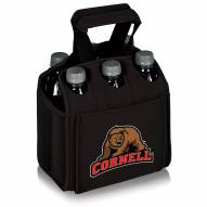 Cornell Big Red Black Six Pack Cooler Tote