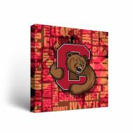 Cornell Big Red Fight Song Canvas Wall Art