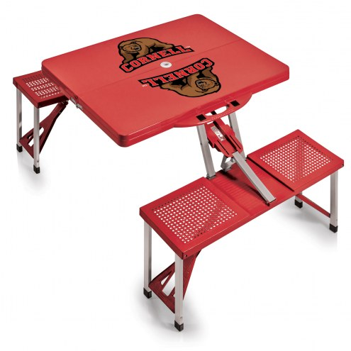 Cornell Big Red Folding Picnic Table