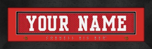 Cornell Big Red Personalized Stitched Jersey Print