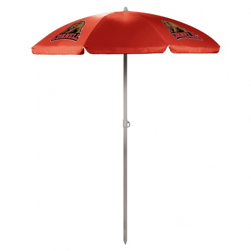 Cornell Big Red Red Beach Umbrella