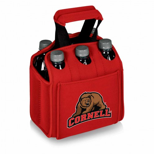 Cornell Big Red Red Six Pack Cooler Tote