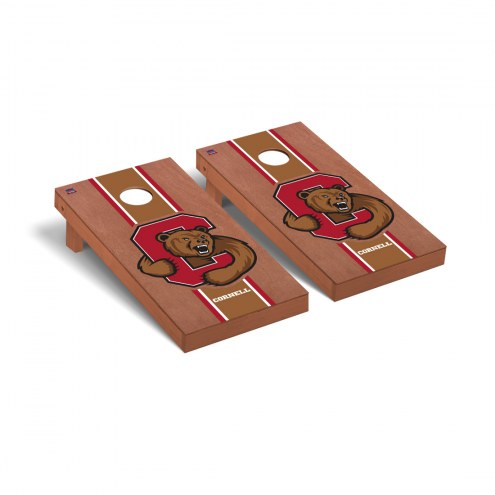 Cornell Big Red Rosewood Stained Cornhole Game Set