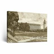 Cornell Big Red Sketch Canvas Wall Art