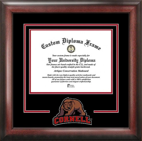 Cornell Big Red Spirit Diploma Frame