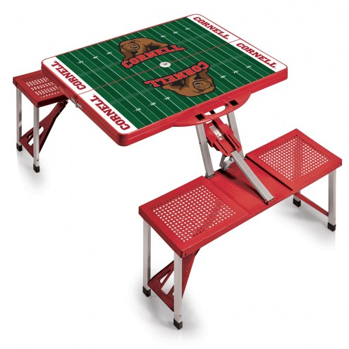 Cornell Big Red Sports Folding Picnic Table