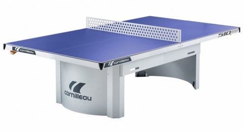 Cornilleau 510M Outdoor Stationary Blue Table Tennis Table