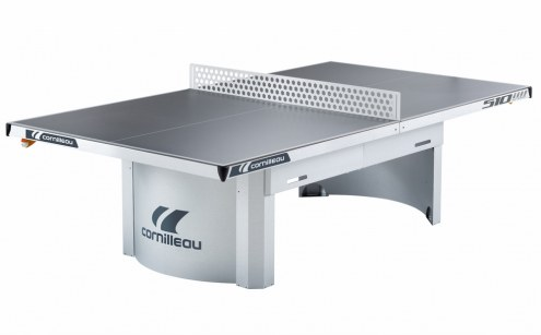 Cornilleau 510M Outdoor Stationary Gray Table Tennis Table