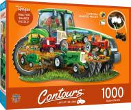 Countours Tractor 1000 Piece Shaped Puzzle