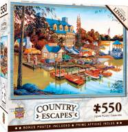 Country Escapes Peaceful Easy Evening 550 Piece Puzzle
