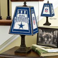 Dallas Cowboys NFL Hand-Painted Art Glass Table Lamp