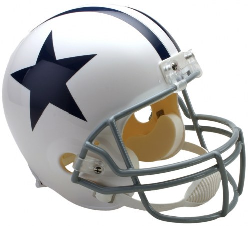 Riddell Dallas Cowboys 1960-63 Deluxe Collectible Throwback NFL Football Helmet