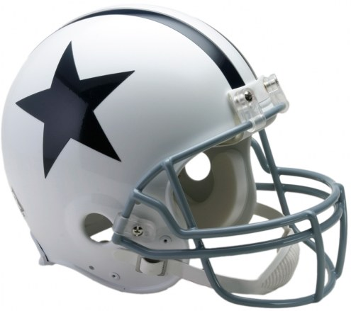 Riddell Dallas Cowboys 1960-63 Authentic Throwback NFL Football Helmet - Full Size
