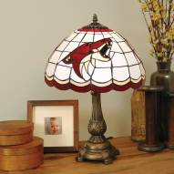Arizona Coyotes NHL Stained Glass Table Lamp