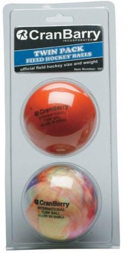 CranBarry Supersmooth Field Hockey Practice Balls - Twin Pack