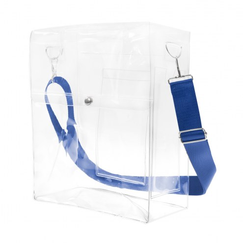 Creighton Bluejays Clear Ticket Satchel