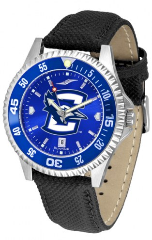 Creighton Bluejays Competitor AnoChrome Men's Watch - Color Bezel
