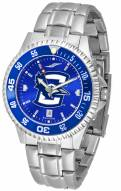 Creighton Bluejays Competitor Steel AnoChrome Color Bezel Men's Watch