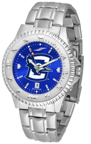 Creighton Bluejays Competitor Steel AnoChrome Men's Watch