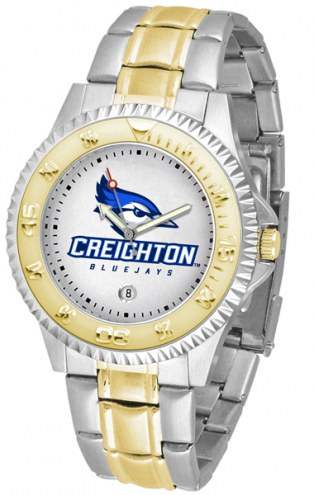 Creighton Bluejays Competitor Two-Tone Men's Watch