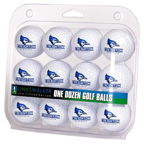 Creighton Bluejays Dozen Golf Balls