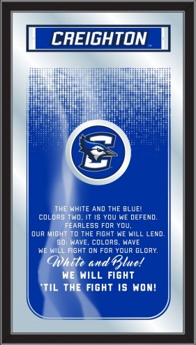 Creighton Bluejays Fight Song Mirror