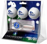 Creighton Bluejays Golf Ball Gift Pack with Kool Tool