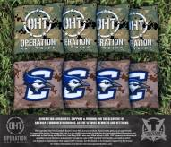 Creighton Bluejays Operation Hat Trick Cornhole Bag Set