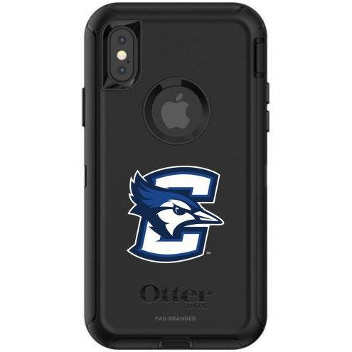 Creighton Bluejays OtterBox iPhone X/Xs Defender Black Case