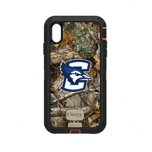 Creighton Bluejays OtterBox iPhone XS Max Defender Realtree Camo Case