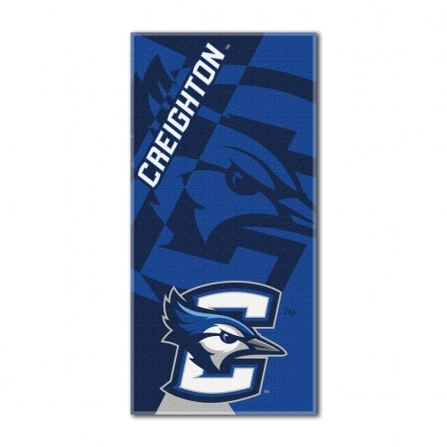 Creighton Bluejays Puzzle Beach Towel