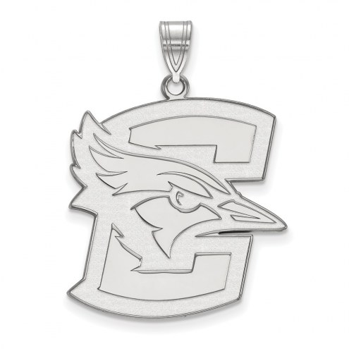 Creighton Bluejays Sterling Silver Extra Large Pendant
