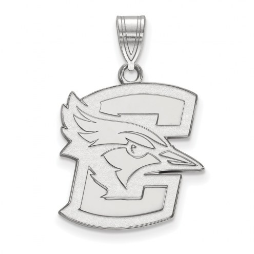 Creighton Bluejays Sterling Silver Large Pendant