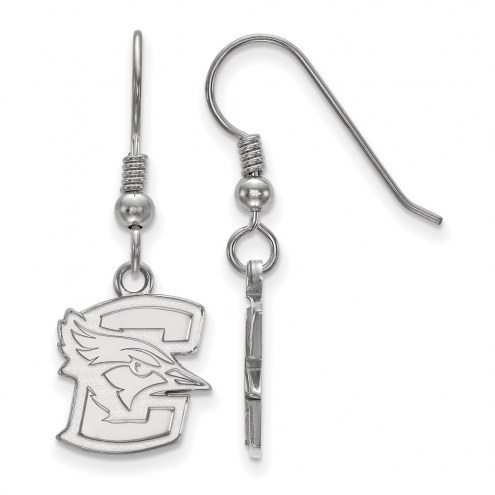 Creighton Bluejays Sterling Silver Small Dangle Earrings