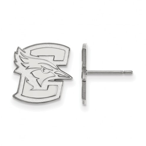 Creighton Bluejays Sterling Silver Small Post Earrings