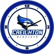 Creighton Bluejays Traditional Wall Clock
