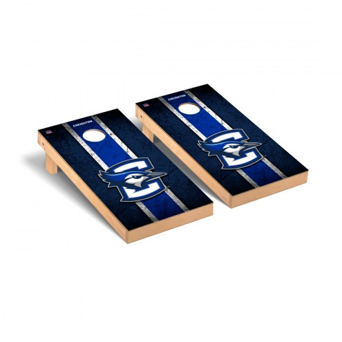 Creighton Bluejays Vintage Cornhole Game Set