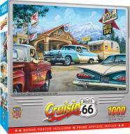Cruisin' Route 66 On the Road Again 1000 Piece Puzzle