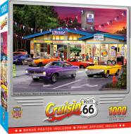 Cruisin' Route 66 Pitstop 1000 Piece Puzzle