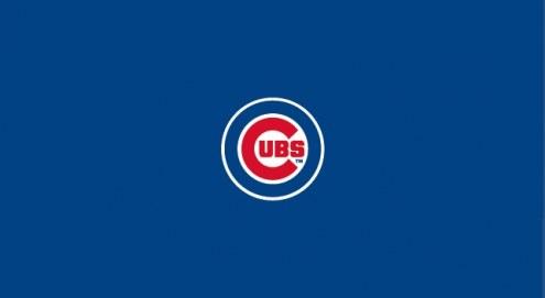 Chicago Cubs MLB Team Logo Billiard Cloth