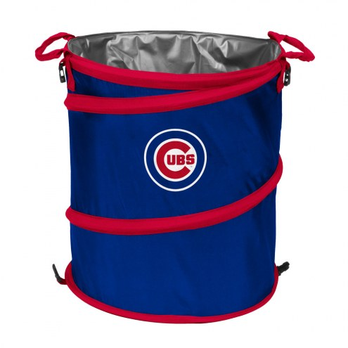 Chicago Cubs MLB Collapsible Trashcan