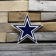 """Dallas Cowboys 12"""" Steel Logo Sign"""