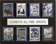 "Dallas Cowboys 12"" x 15"" All-Time Greats Plaque"
