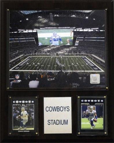 """Dallas Cowboys 12"""" x 15"""" Stadium Plaque"""