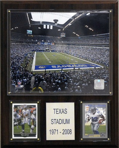 "Dallas Cowboys 12"" x 15"" Texas Stadium Plaque"