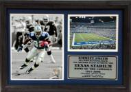 "Dallas Cowboys 12"" x 18"" Emmitt Smith Photo Stat Frame"