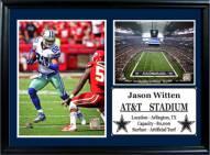 "Dallas Cowboys 12"" x 18"" Jason Witten Photo Stat Frame"