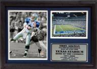 "Dallas Cowboys 12"" x 18"" Troy Aikman Photo Stat Frame"
