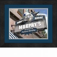 Dallas Cowboys 13 x 16 Personalized Framed Sports Pub Print