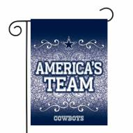 "Dallas Cowboys 13"" x 18"" Garden Flag"